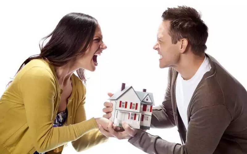 разделение имущества при расторжении брака