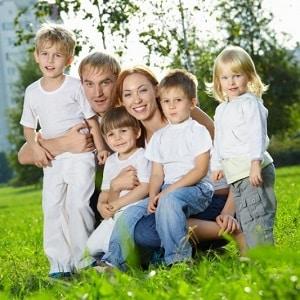Размер алиментов на 4 детей в процентах