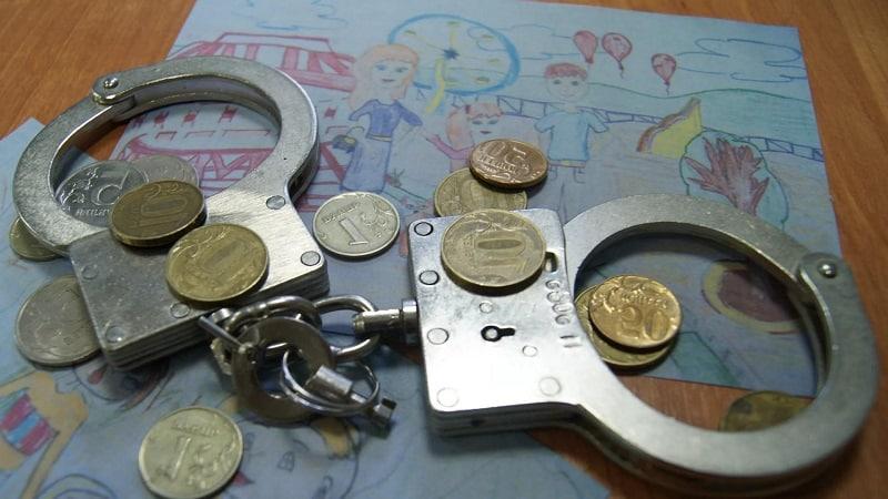 Как платятся алименты на ребенка, если отец сидит в тюрьме